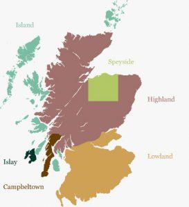 Scotch by region