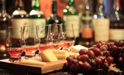 Des entrées pour le Whisky