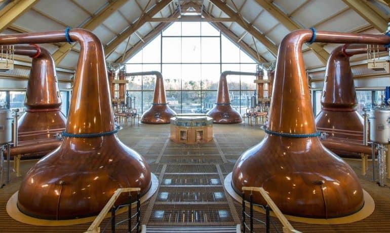 distilleries de whisky en Écosse