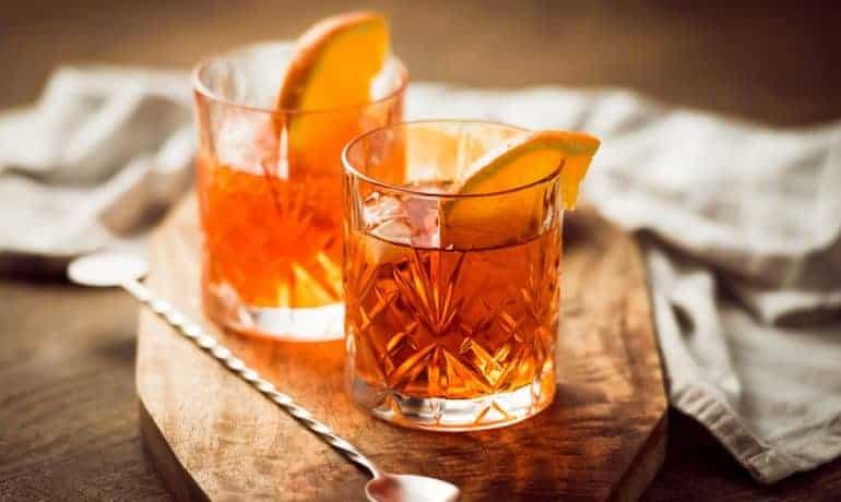 cocktail de whisky