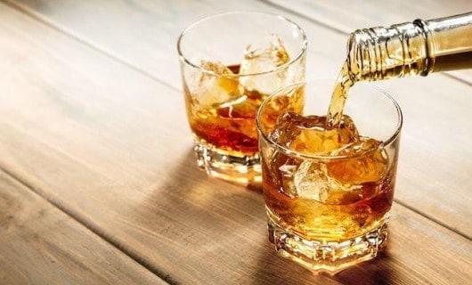 whisky et prise de poids