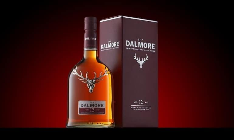 Dalmore 12 ans d'âge bouteille