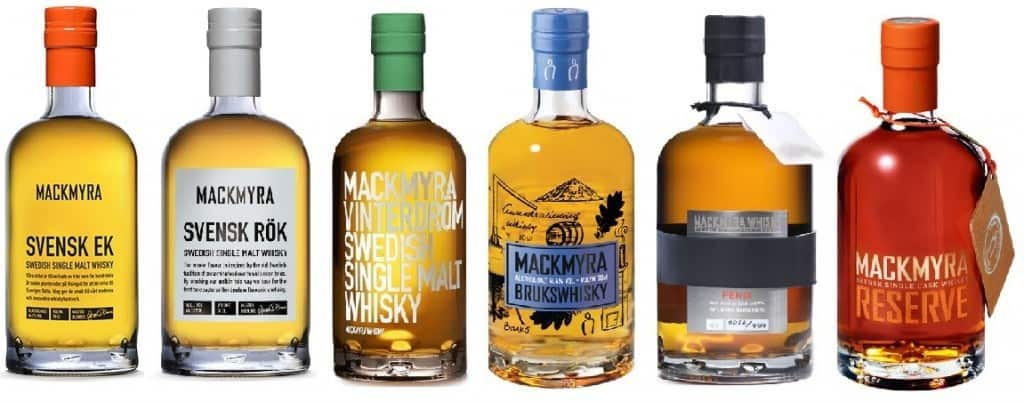 whiskey mackmyra - swedish whiskey