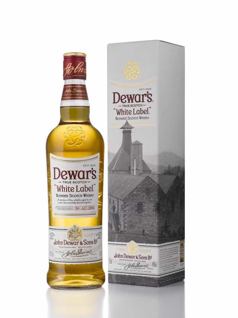Dewars White Label bouteille